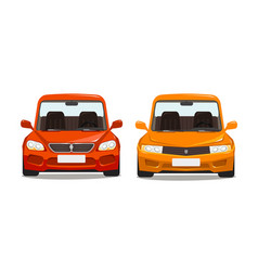 Sports car race concept cartoon vector