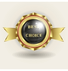 trademark best choice vector image