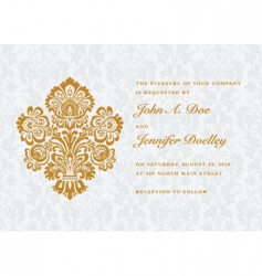 invitation vector image vector image