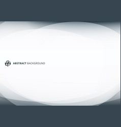 abstract template elegant header and footers vector image