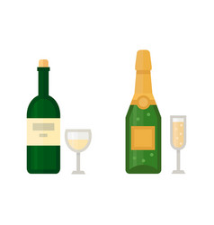 alcohol champagne drinks beverages cocktail drink vector image