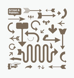 arrows and pointers vector image