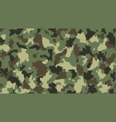 camouflage brown vector image