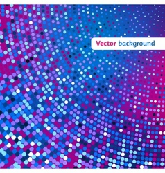 Disco glowing background vector