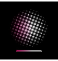 gradient halftone background vector image