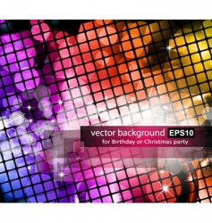 Graphic neon background vector