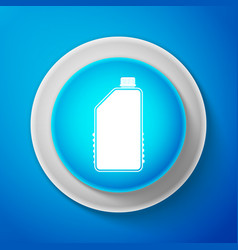 household chemicals blank plastic bottle icon vector image