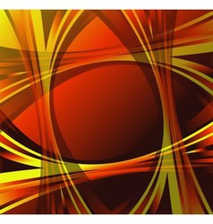 Orange yellow wave swirl background vector