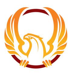Phoenix sport mascot vector