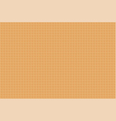 waffle sweet texture dessert pattern seamless vector image