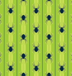 seamless spider pattern vector image vector image