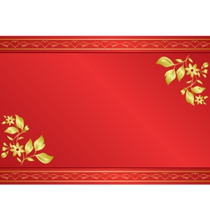 red card with gradient vector image vector image