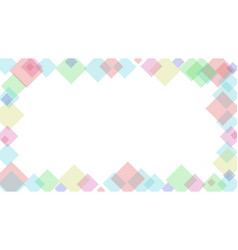 abstract background with cube shapes vector image