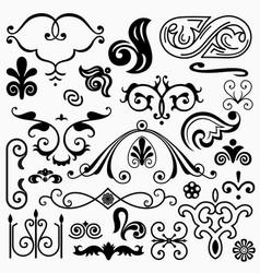 design elements set 11 vector image