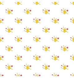 Firework pattern cartoon style vector image