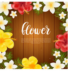 Floral card banner poster design beautiful vector