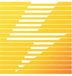 lightning square flat design background flash vector image
