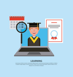 People learning concept vector