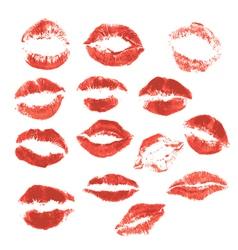 Set lips 3 380 vector