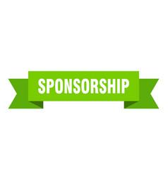 Sponsorship vector