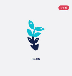 two color grain icon from alcohol concept vector image