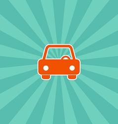 vehicle icon vector image
