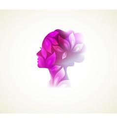 Beautiful woman vector image vector image