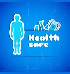 health care concept vector image vector image