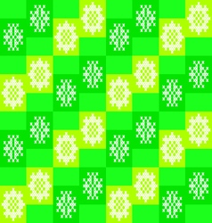 Seamless texture with patterns embroidery vector image