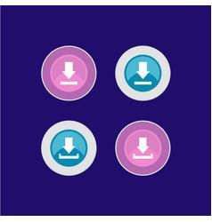 download icon logo design vector image