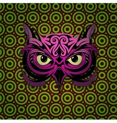 Mystic owl vector image
