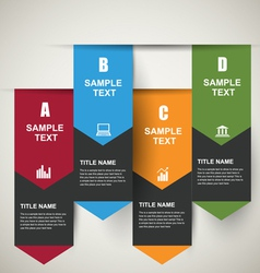 Infographic Banners vector image