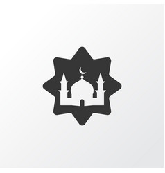 masjid icon symbol premium quality isolated vector image vector image