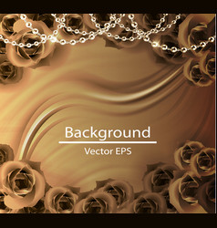 abstract background luxury cloth vector image