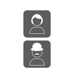 School of communication icons vector