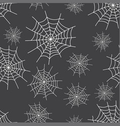 spider web background for halloween vector image
