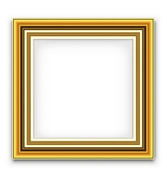 Frame for photo or picture vector image vector image