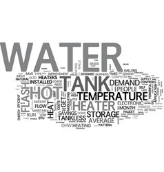 A tankless water heater can save you a lot on hot vector