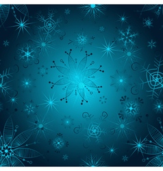 Seamless gradient christmas pattern vector image vector image