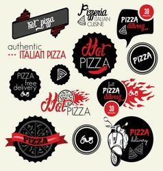 pizza delivery1 resize vector image vector image