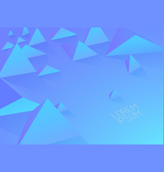 abstract colorful background with polygonal vector image