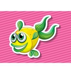 Fancy fish vector