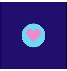 like icon logo design vector image