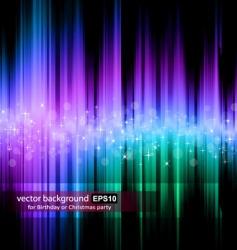 Rainbow stripes background vector