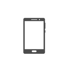 smartphone or mobile phone icon vector image