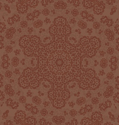 Damask Card Template vector image vector image