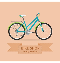 bike 2 vector image