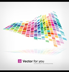 colorful background mosaic pattern vector image