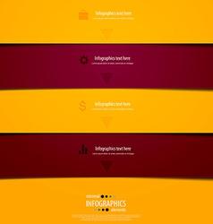 infographics minimal 8 vector image vector image