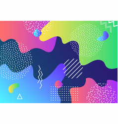 abstract pop art pattern background with lines vector image